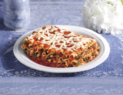 Gluten Free, Dairy Free Vegetable lasagna
