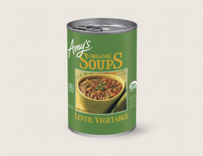 Organic Lentil Vegetable Soup