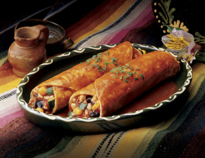 Black Bean Vegetable Enchilada, Light in Sodium standard image