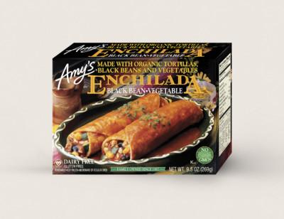Black Bean Vegetable Enchilada