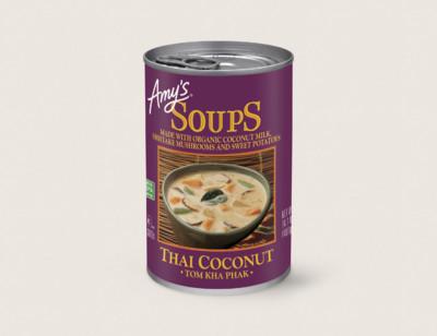 Thai Coconut Soup - Tom Kha Phak