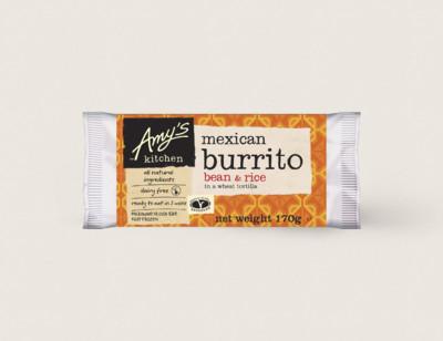 Bean & Rice Burrito, Non-Dairy hover image