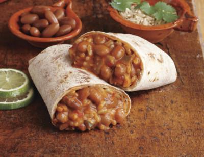 Bean & Rice Burrito, Non-Dairy standard image