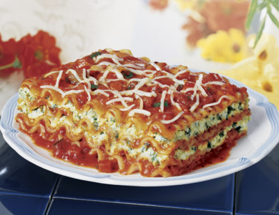 Vegetable Lasagne, Gluten Free