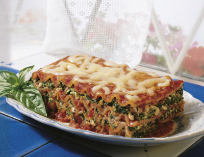 Vegetable Lasagne standard image