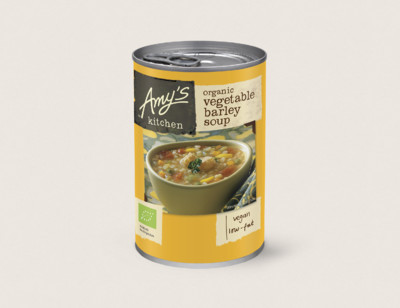 Organic Vegetable Barley Soup hover image