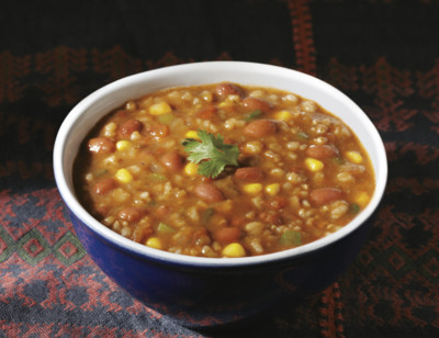 Organic Hearty Spanish Rice & Red Bean Soup standard image