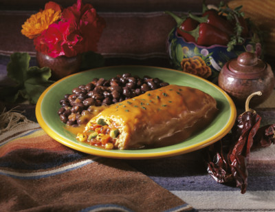 Roasted Vegetable Tamale standard image