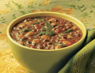 Organic Lentil Vegetable Soup, Light in Sodium standard image