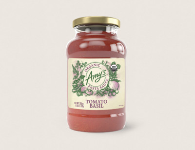 Organic Tomato Basil Pasta Sauce hover image
