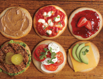 Organic Sandwich Rounds, Gluten Free, Dairy Free
