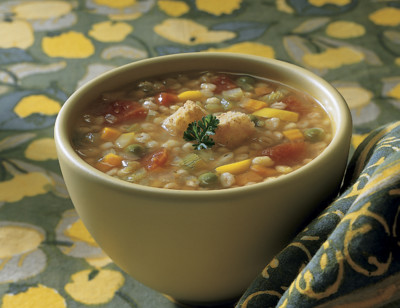 Organic Vegetable Barley Soup standard image