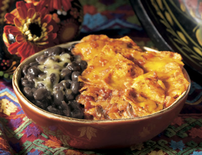 Mexican Tortilla Bake Bowl