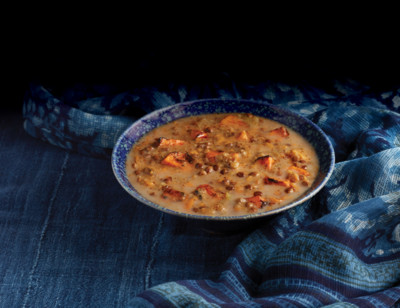 Thai Curry Sweet Potato Lentil Soup