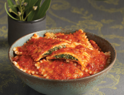 Vegan Spinach & Cheeze Ravioli standard image