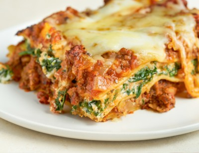 Veggie Burger Lasagna
