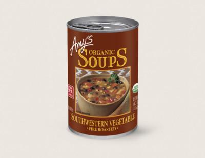 Organic Fire Roasted Southwestern Vegetable Soup