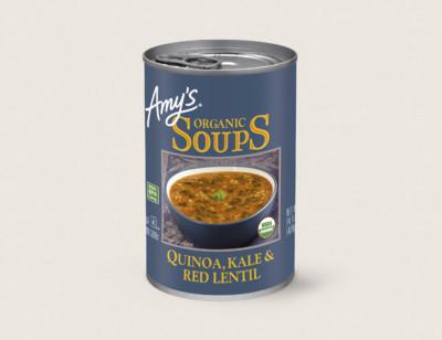 Organic Quinoa, Kale & Red Lentil Soup hover image