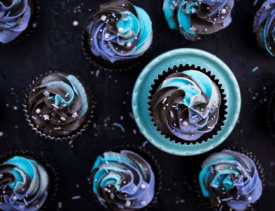 Dreamy Galaxy Cupcakes