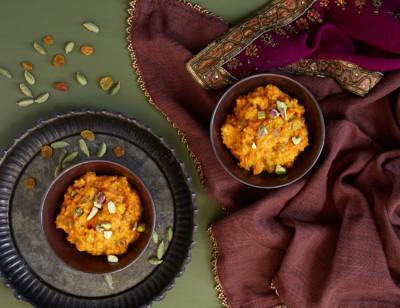 Carrot Ginger Halwa