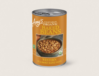 Organic Western Vegetarian Baked Beans hover image