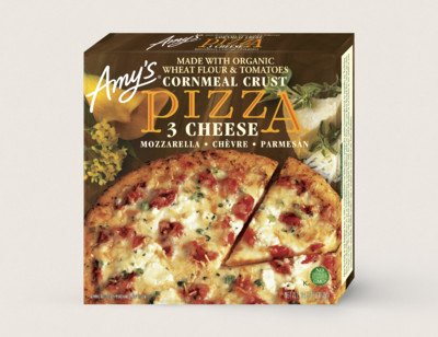 3 Cheese Pizza With Cornmeal Crust