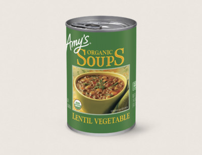 Organic Lentil Vegetable Soup hover image