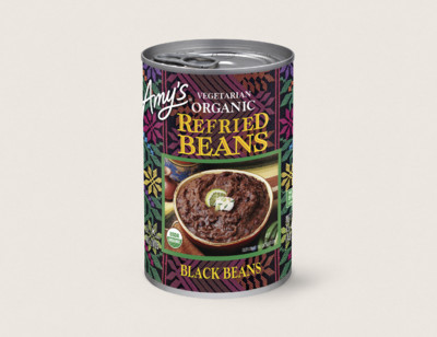 Organic Vegetarian Refried Black Beans