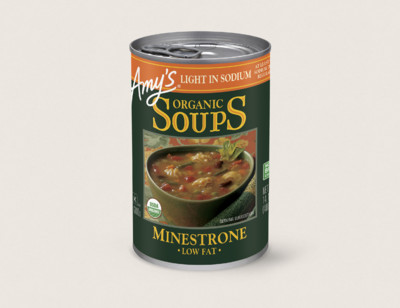 Organic Minestrone Soup, Light in Sodium hover image