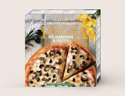 Mushroom & Olive Pizza/Pizza Champignons Et Olives