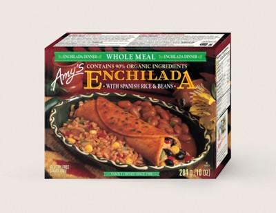 Black Bean Enchilada Whole Meal/Fait De Riz Espagnol Et Fèves Enchilada hover image