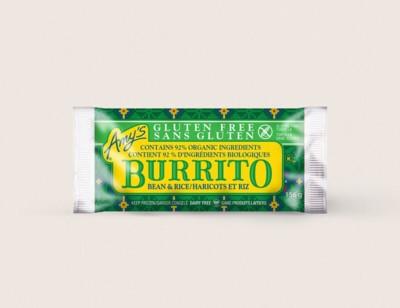 Gluten Free Bean & Rice Burrito/Haricots Et Riz hover image