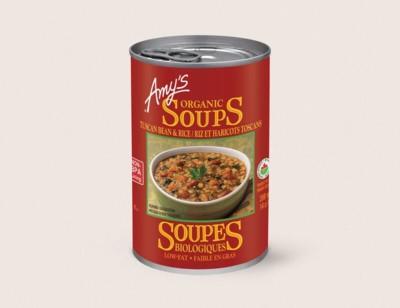 Organic Tuscan Bean & Rice Soup/Riz et Haricots Toscans Biologiques