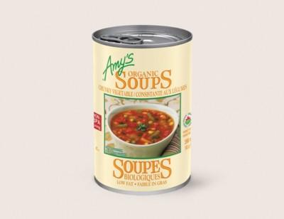Organic Chunky Vegetable Soup/Consistante AuxLégumes Biologiques hover image