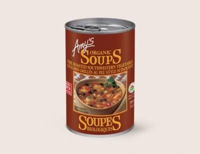 Organic Fire Roasted Southwestern Vegetable Soup/Légumes Grillés Au Feu Style Sud-west Biologiques hover image
