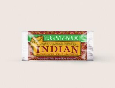 Gluten Free Indian Aloo Mattar Wrap/Sans Gluten Roulé À L'Aloo Mattar hover image