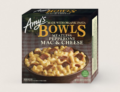 Mac & Cheese Meatless Pepperoni Bowl hover image