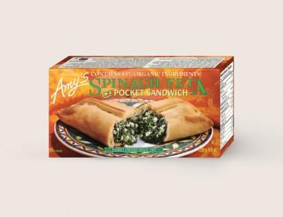 Spinach Feta in a Pocket Sandwich/Épinards Et Féta Dans Une Pochette Sandwich hover image