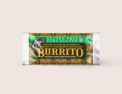 Black Bean & Quinoa Burrito/Haricots Noirs Et Quinoa