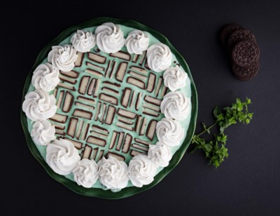 Vegan Mint Chocolate Ice Cream Pie