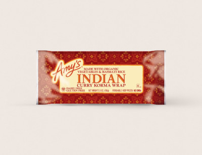 Indian Curry Korma Wrap hover image