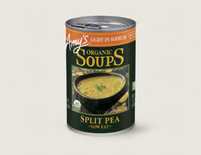 Organic Split Pea Soup, Light in Sodium hover image