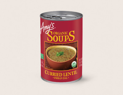 Organic Indian Curried Lentil Soup hover image
