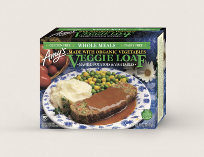 Veggie Loaf Meal, Gluten Free, Dairy Free