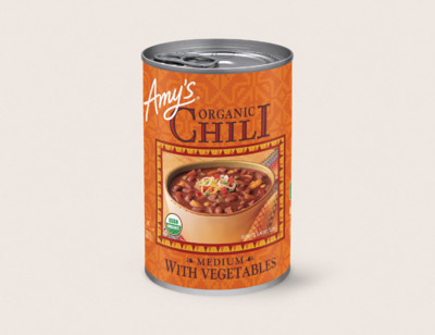 Organic Chili with Vegetables hover image