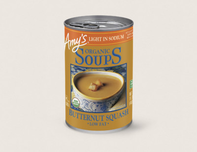 Organic Butternut Squash Soup, Light in Sodium hover image