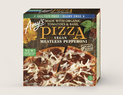 Gluten Free, Vegan Meatless Pepperoni Pizza hover image