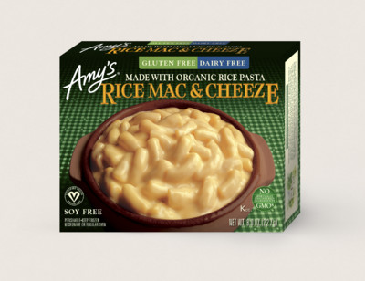 Rice Mac & Cheeze, Gluten Free, Dairy Free