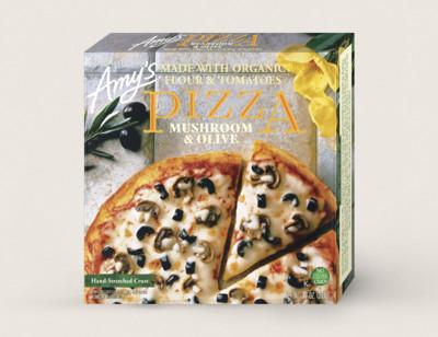 Mushroom & Olive Pizza hover image