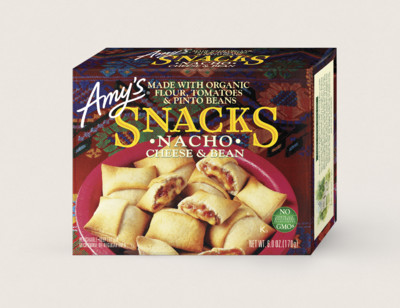 Cheese & Bean Nacho Snacks